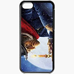 Personalized iPhone 5C Cell phone Case/Cover Skin Disneys A Christmas Carol Black