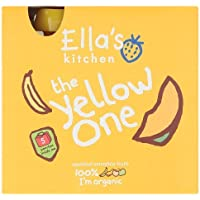 Ellas Kitchen Organic Fruit Smoothie,The Yellow One, 5 x 90 gm