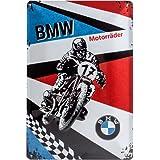 Nostalgic-art-bilderpalette moto bMW-panneau en métal de 20 x 30 cm