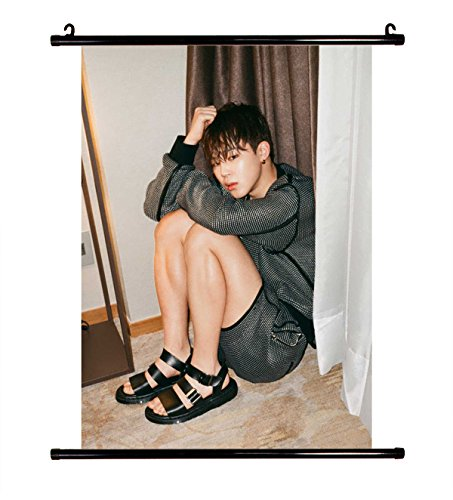 Fanstown BTS kpop in the love for mood wall scroll cloth pos