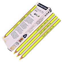 Staedtler Textsurfer Dry Highlighter Pencil 128 64 Drawing for Writing Sketching Inkjet,paper,copy,fax by Staedtler