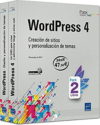 Pack De 2 Libros: Wordpress 4. Creación De Sitios Y ...