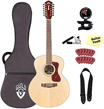 Hermandad f-1512 Westerly Collection guitarra acústica de 12 con ...