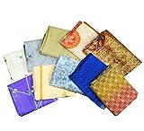 Indian Vintage Sari Lot Of 10 Art Silk Saree 5Yd Printed Wholesale Fabric Saree