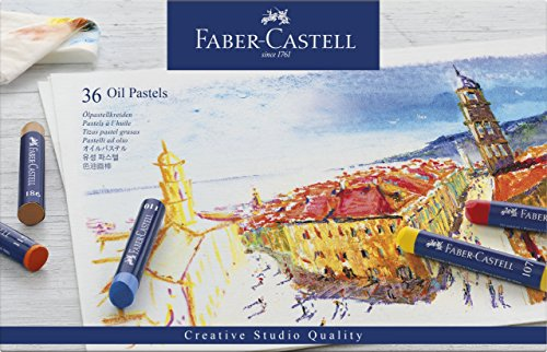 Creative Studio Oil Pastel Crayons 36/Pkg- by Faber-Castell