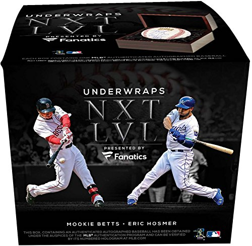 2017 Fanatics Under Wraps NXT LVL Sealed Single Ball Box - Fanatics Authentic Certified - Autographed Baseballs (2018 All Star Game Tickets)