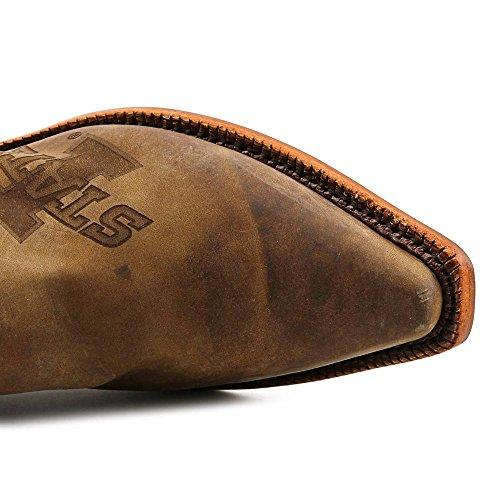 Nocona Womens Ldisu11 Iowa State University Collegiate Laser Branded Boots-brown Brown