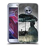 Official LouiJoverArt Rainy Day Dreams Double Exposure Soft Gel Case Compatible for Motorola Moto X4
