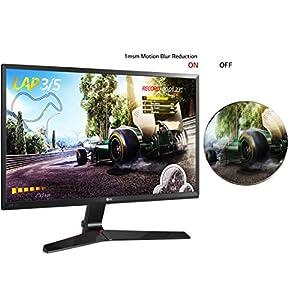 LG 60.96 cm (24 inch) Gaming Monitor – 1ms, 75Hz, AMD Freesync, Full HD, IPS Panel with VGA, HDMI, Display Port, 24MP59G…
