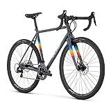 Raleigh Bikes RXM Cyclocross Bike, Grey, 56cm/Large