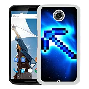 Popular Custom Designed Case For Google Nexus 6 With Minecraft 49 White Phone Case