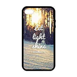 Custom Bible Verse Personalized Custom Hard Case for iPhone 4 4s Durable Case Cover