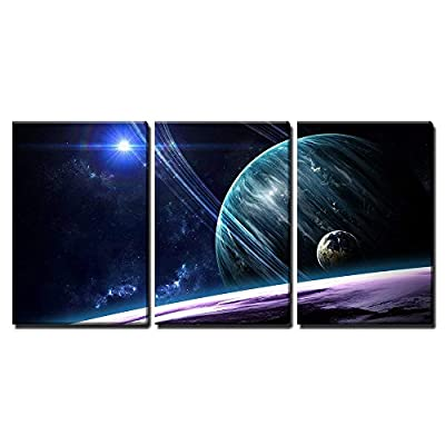 Planets Stars Galaxies in Outer Space Wall Decor...