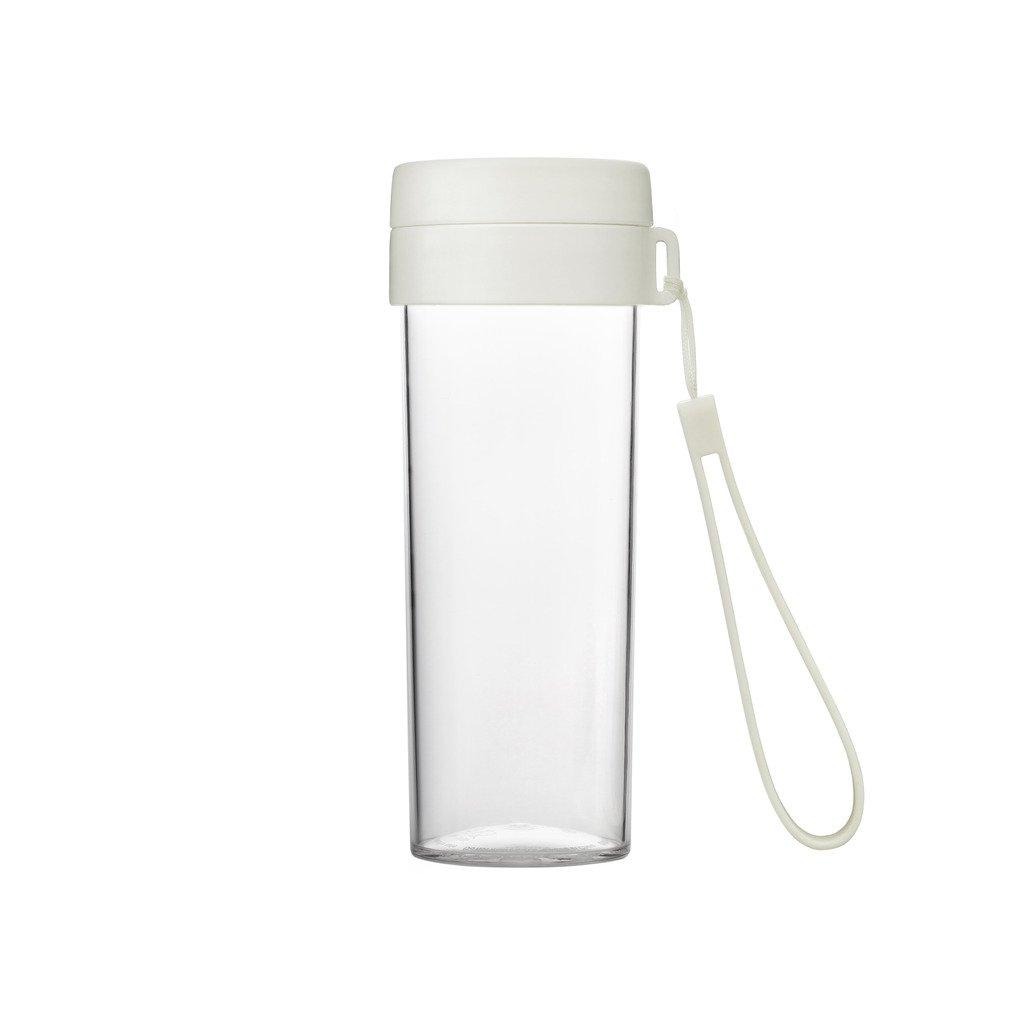 超可爱 Emoi ホワイト 16ozスポーツInfuser Water Bottle Bottle , Tritan Wide Mouth Mouth Fruit Tea InfusionアウトドアDrinking Cup、BPAフリー漏れ防止熱断熱フラスコ、食品グレードPPキャップ、ポータブルストラップ、携帯サイズ ホワイト B01E3C5VKO, ミタケムラ:0c694d91 --- senas.4x4.lt