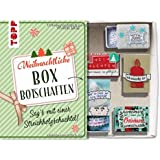 Weihnachtliche Boxbotschaften. Sag's mit einer Streichholzschachtel: Mit hübschen Ausschneidemotiven zum Verzieren der eigenen Schachtelgrüße (kreativ.kompakt.)