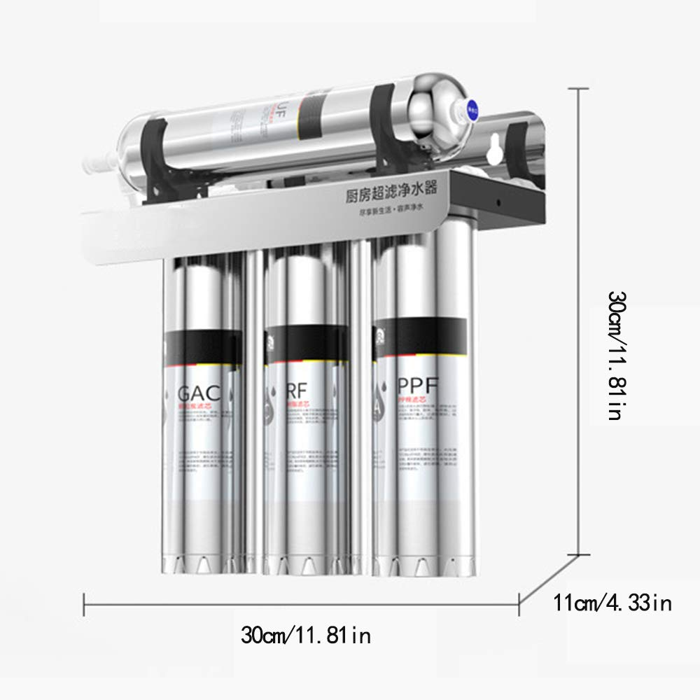 Under Sink with Remineralization Ultra Safe Mineral LONSID Express Water Alkaline Reverse Osmosis Filtration System Ro Mineralizing Filter