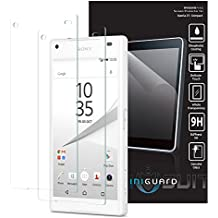 MiniGuard Tempered Glass Screen Protector (2 Pack) for Sony Xperia Z5 Compact