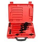 8milelake 11pcs Snap Ring Plier Set Mechanic Pro Circlips w/Case Car Truck Motorcycle