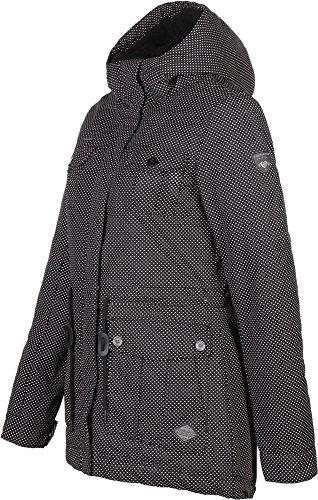 Noir Red Laika Minidots Dusty Jacket Ragwear Z4XgPqxa