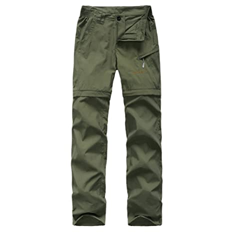ee89ee691 Amazon.com : GITVIENAR Women's Convertible Walking Trousers ...