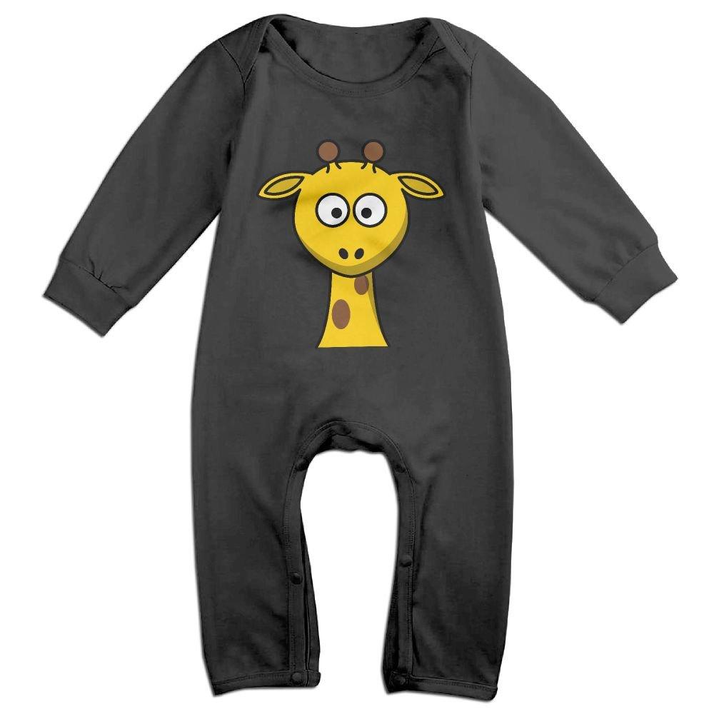 GooReady Lovely Giraffe Head Baby Infant Romper Long Sleeve Bodysuit