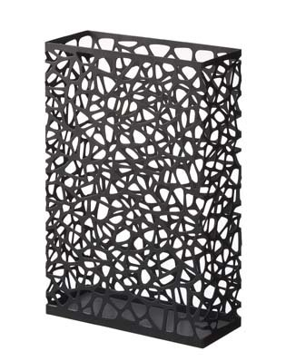 Nest Modern Home Decor SunLine Black Metal Rectangular Umbrella Stand