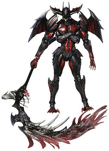 Monster Hunter X(Cross) PLAY ARTS개 디 아보로스 장비(레이 더 시리즈) PVC제 도장필 가동 피규어