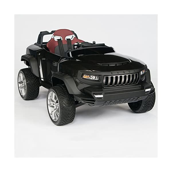 Henes Broon T870 Kids Ride On Vehicle 24v Power With Rubber Wheels Remote Control Black