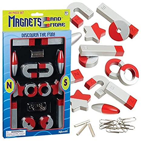 Magnets and more 24 piece set by toysmith TSM7367