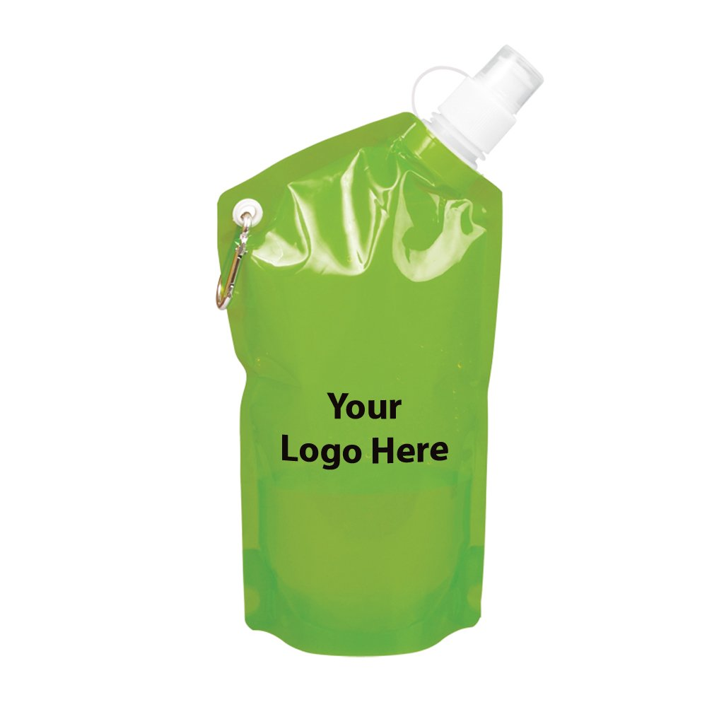 20 Oz. Smushy Flexible Water Bottle - 150 Quantity - $2.35 Each - PROMOTIONAL PRODUCT / BULK / BRANDED with YOUR LOGO / CUSTOMIZED