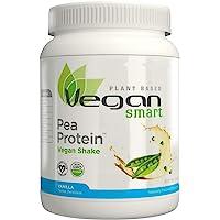 Naturade Plant Based VeganSmart Vegan Pea Protein – Vanilla – 19 oz