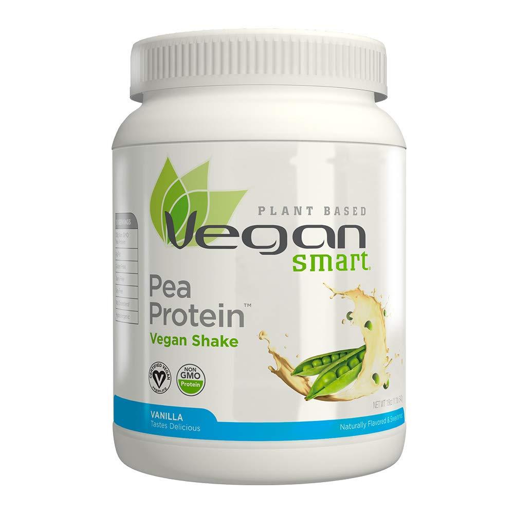 Naturade Plant Based VeganSmart Vegan Pea Protein - Vanilla - 20.63 oz by Vegansmart