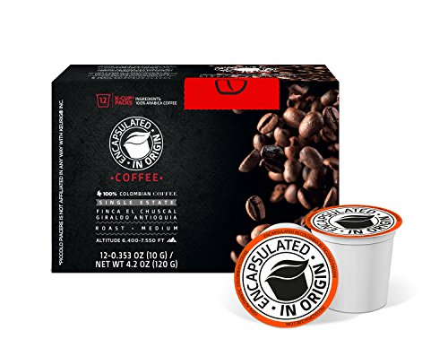 Finca El Chuscal, Distinct Estate Coffee by Piccolo Piacere. Winner of 2015 Antioquia Cup prize. 100% Arabica Colombian Fine Smooth Coffee. Soup of Berries, Flowers, Unique Rose Tea Aroma. 12 K-Cups