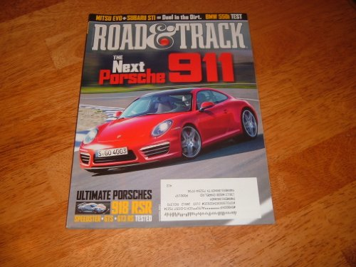 Car Racing Indy Magazine (Road & Track Magazine March 2011)