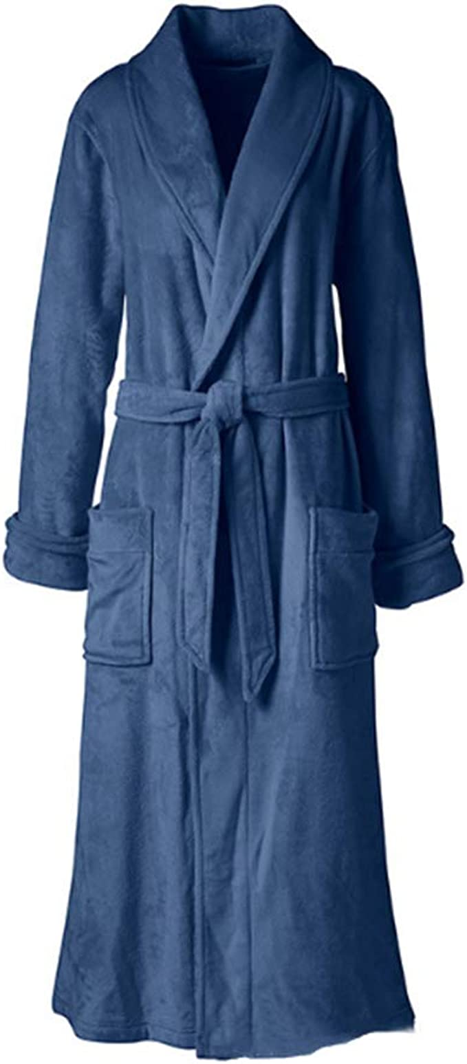 Mujeres Kimono Batas Algodón Ligero Bata Corta Tejido Albornoz Ropa de Dormir Suave con Cuello en V para, Las Albornoces de Franela y Grasa más largas Son Simples y cómodas: Amazon.es: Ropa