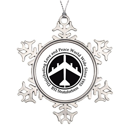Personalised Christmas Tree Decoration A098 B52 distribiting love black.png Snowflake Ornaments And More Force Frame Png Christmas