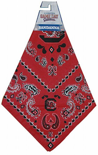 NCAA South Carolina Fighting Gamecocks Team Color Bandana by Game Day Outfitters