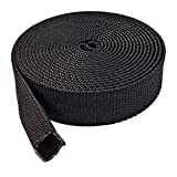 Electriduct 1'' Nylon Protective Hose Sleeve - 100ft Black