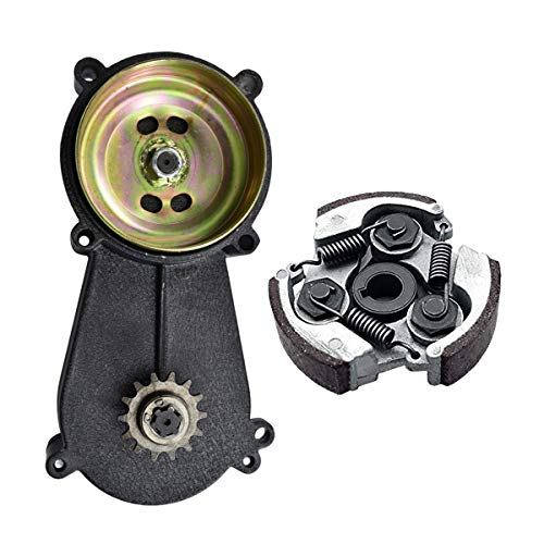 - WPHMOTO 14 Tooth T8F Transmission Reduction Gear Box Gearbox and Clutch Pad for 47cc 49cc 2-Stroke Pocket Mini Bike