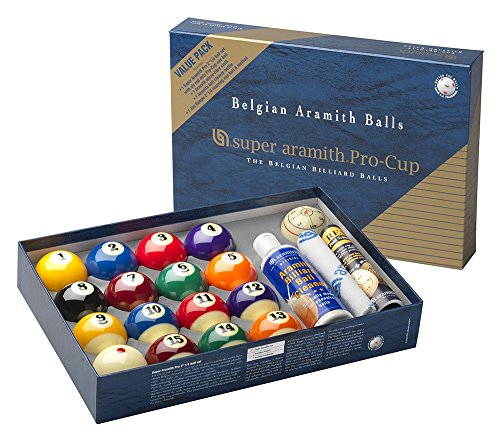Super Aramith PRO-CUP Value Pack (Pooldawg Balls Billiards)