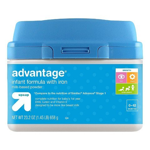 UPC 683744795021, up & up® Infant Formula Advantage - 23.2oz