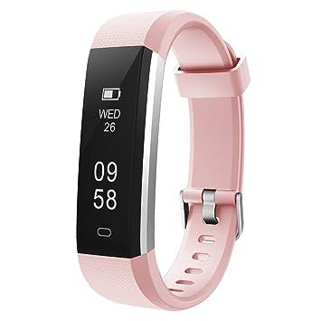 COOLEAD Pulsera Actividad Mujer Hombre Reloj Inteligente Podómetro Monitor de Actividad Impermeable IP67 Fitness Tracker Pulsera Deportiva con ...