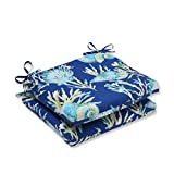 Pillow Perfect Outdoor/Indoor Daytrip Pacific Squared Corners Seat Cushion (Set of 2)
