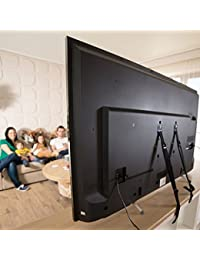 Baby Safety Metal TV Straps Furniture Anti-Tip Straps Heavy Duty Strap All Flat Screen TV/Furniture 2 Pack BOBEBE Online Baby Store From New York to Miami and Los Angeles
