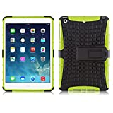 iPad Mini Case - ALLIGATOR Heavy Duty Rugged Back Cover for iPad Mini 3rd, 2nd and 1st Generation, Lime Green