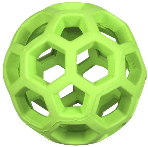 Hol Ee Roller Rubber Chew Toy (JW Pet Company Mini Hol-ee Roller Dog Toy, Colors Vary)
