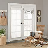 PARASOL Key Largo Indoor/Outdoor French Door Panel, 26' x 68', White