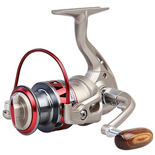 HOSPORT DF3000 Golden Spinning Reel Fishing Reel Fixed Spool Reel Coil Fish Fishing ()