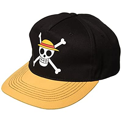 One Piece Luffy's Pirate Flag Headwear Cool Anime Hat: Toys & Games