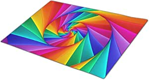 Cronoly Doormat Glow Colorful Rubber Backed Mats